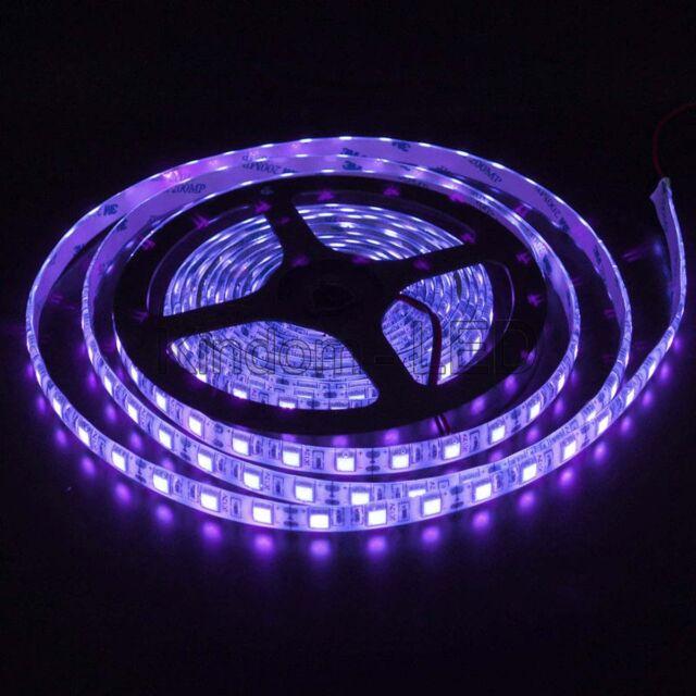 16ft uv purple smd 5050 300 led flexible light strip lamp waterproof 16ft uv purple smd 5050 300 led flexible light strip lamp waterproof ip65 dc12v aloadofball Gallery