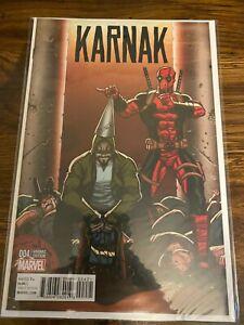 2016 Karnak #4 Ron Lim Deadpool 1:10 Variant Edition 1st Print