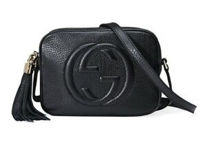 219d77276c1 Image is loading Brand-New-amp-Authentic-GUCCI-Soho-leather-disco-