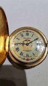 Pocket Watch Vintage Swiss, 17 Jewel, wind up, Works