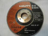 Hilti 5 X 1/4 X 7/8 Special Performance Grinding Wheel, 436693