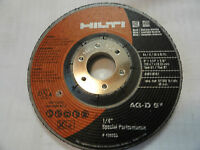 Hilti 5 X 1/4 X 7/8 Special Performance Grinding Wheel, 436693