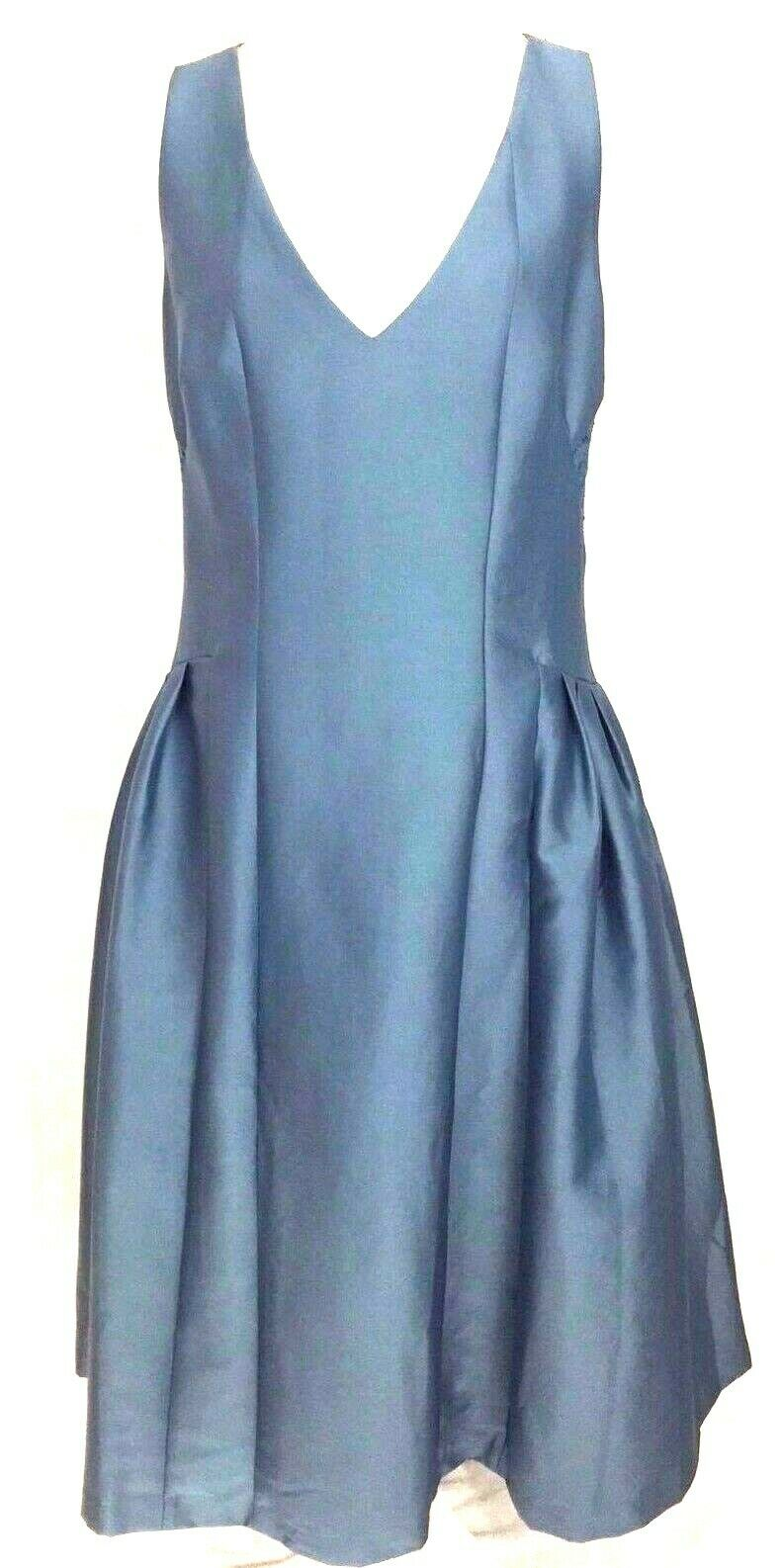ASOS WOMENS DRESS SIZE 12 ELEGANT TEAL BLUE LACE OPEN BACK AND SIDES MAXI LENGTH