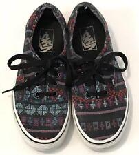 b01cb5c9bb item 8 Vans Authentic Skater Shoes Women s 7 Men s 5.5 Black Aztec Tribal  Print -Vans Authentic Skater Shoes Women s 7 Men s 5.5 Black Aztec Tribal  Print