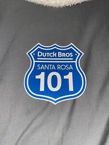 Dutch Bros Santa Rosa Regional sticker