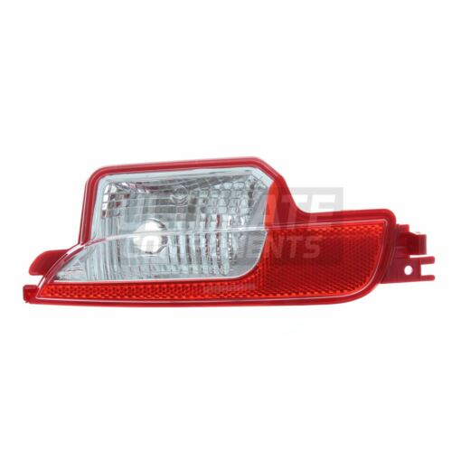 Fiat 500 Hatchback 9//2015-/> Rear Bumper Reverse Light Lamp Passenger Side N//S