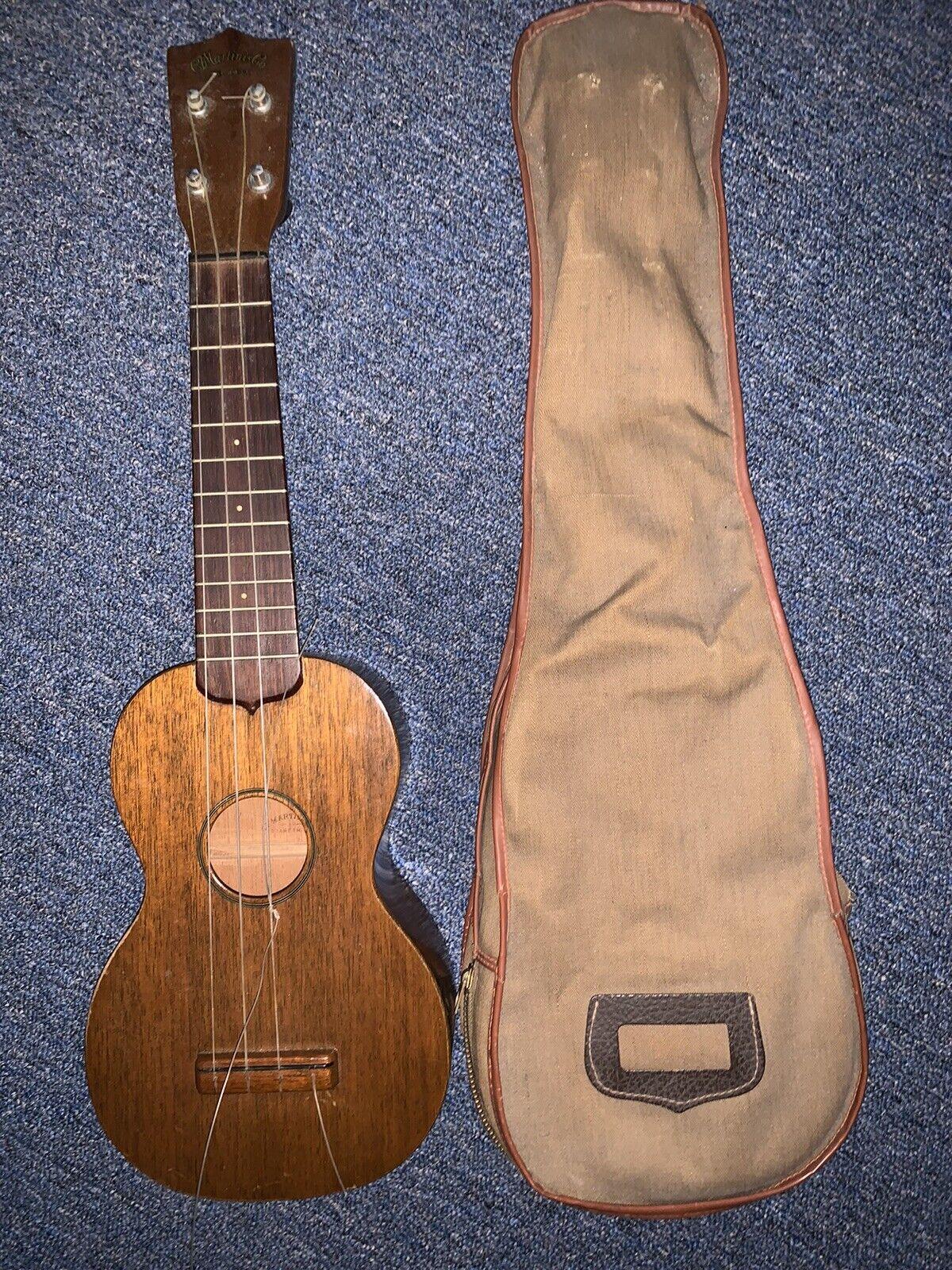 Martin 0x Uke Bamboo Soprano Ukulele Blue For Sale Online Ebay