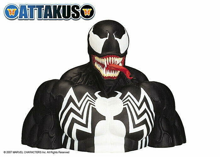 Marvel Venom Bust Bust Bust Resin 14.5cm Ltd 8888 Attakus 95d