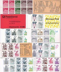 sellos-Alemania-carnet-varios