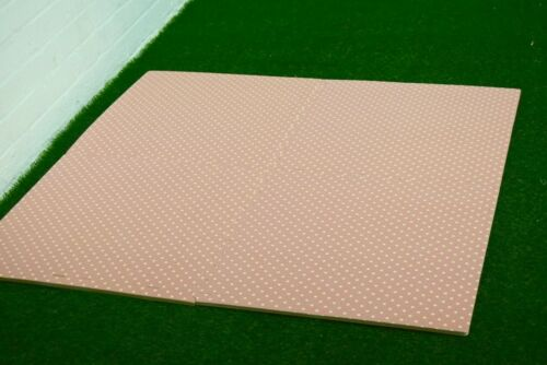 Eva Mats 600mm x 600mm x 12mm Polka Dot design interlocking soft foam tiles
