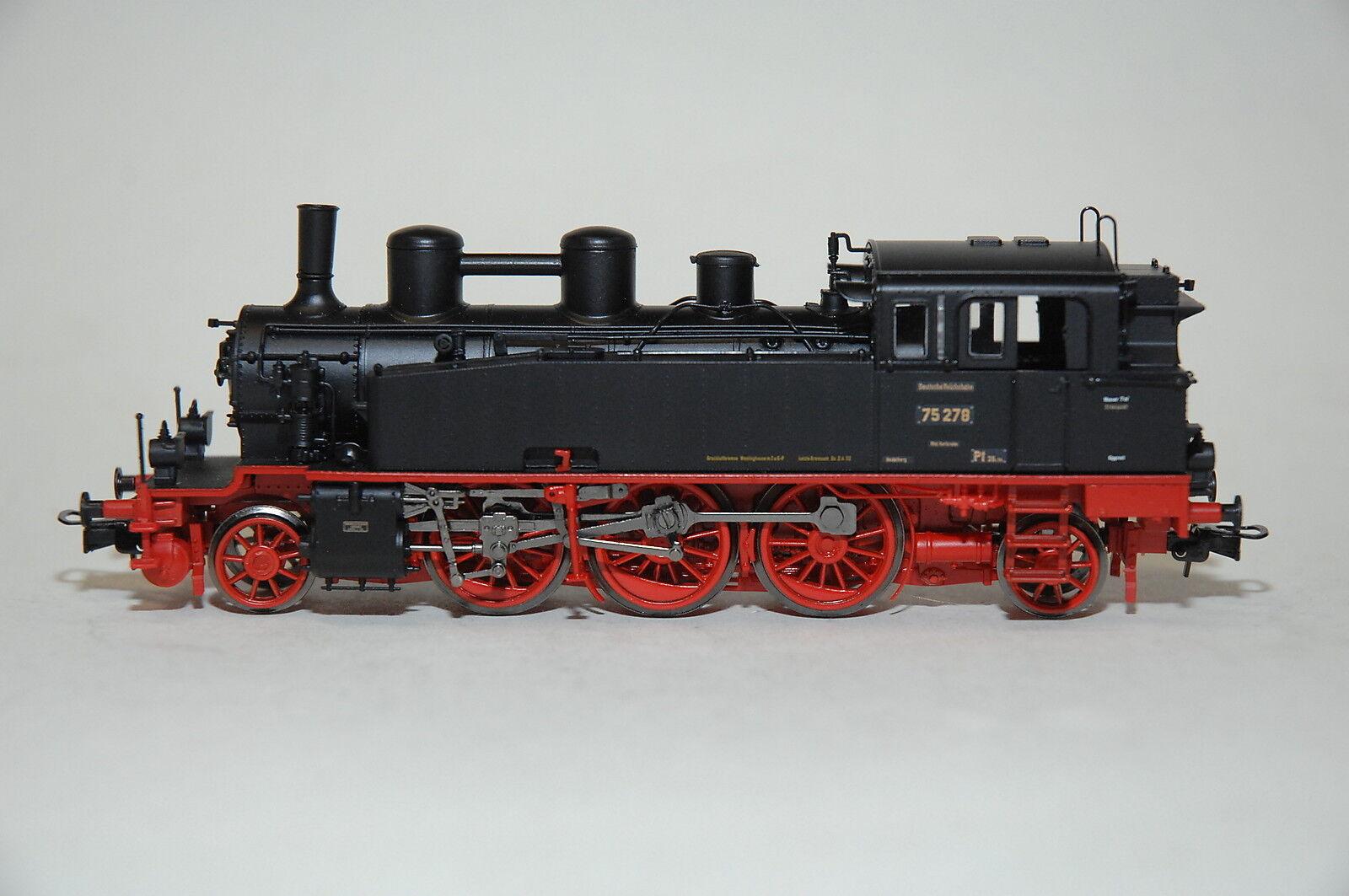 Liliput 131191 dampflokomotive br 75 278 ex bad.vib drg ep.ii neue