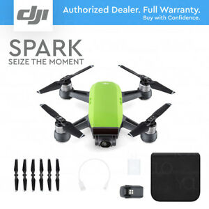 DJI-SPARK-Meadow-Green-12MP-Camera-1080p-Video-2-Axis-Gimbal-Active-Track