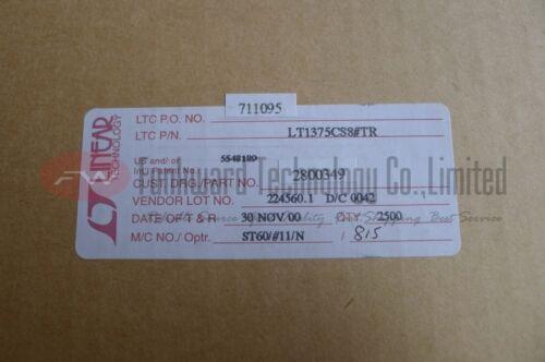 LINEAR LT1375CS8 Singel Step-Down Switching Regulator SOP8 x 10pcs