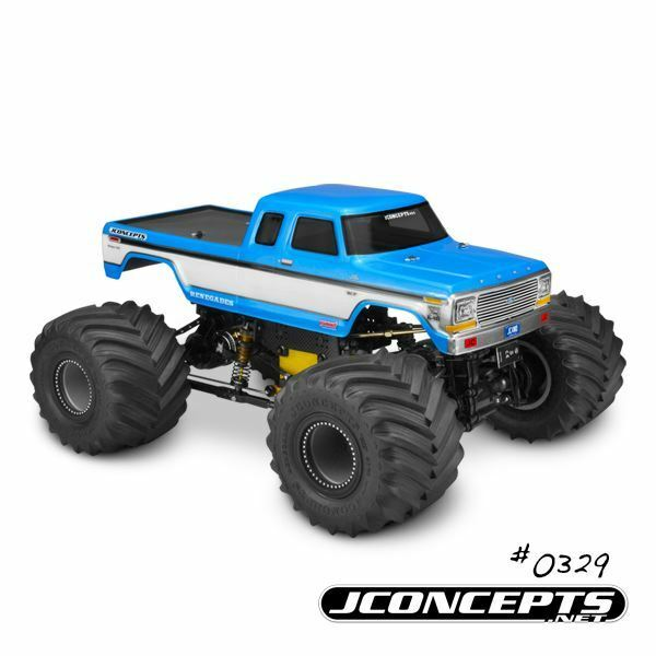 J Concepts - 79 Ford F-250 SuperCab MT Body w  Bumpers
