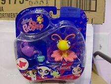 Littlest Pet Shop Sassiest ~ Gold & Purple Butterfly with Star #801 New