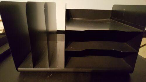 VTG Steel Master Atapco Industrial Metal Vertical Horizontal 3 ea Desk-Organizer