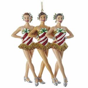Kurt-Adler-Radio-City-Rockettes-Kick-Line-Dancers-Christmas-Tree-Ornament-Decor