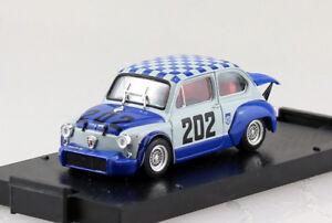 Fiat Abarth 1000 Berlina Racing #202 1970 1:43 Brumm Modellauto R430
