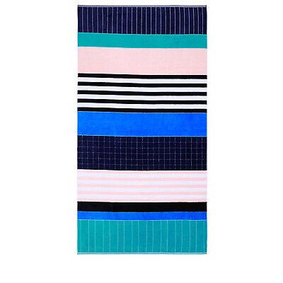 NEW Vue Peninsula Beach Towel: Austin Blue