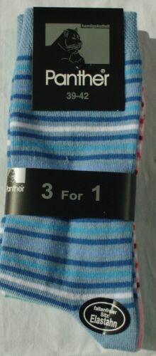 35-42 6//12//24 Paar Frauen Socken 3 vers Farben 80/% Baumwolle Größen so33