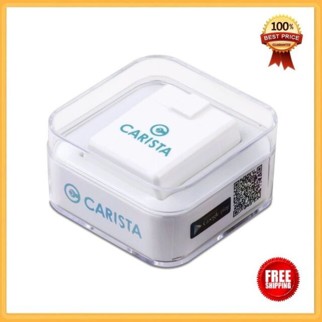 Carista Bluetooth OBD2 Adapter And App Diagnose Customize And Service Your Car