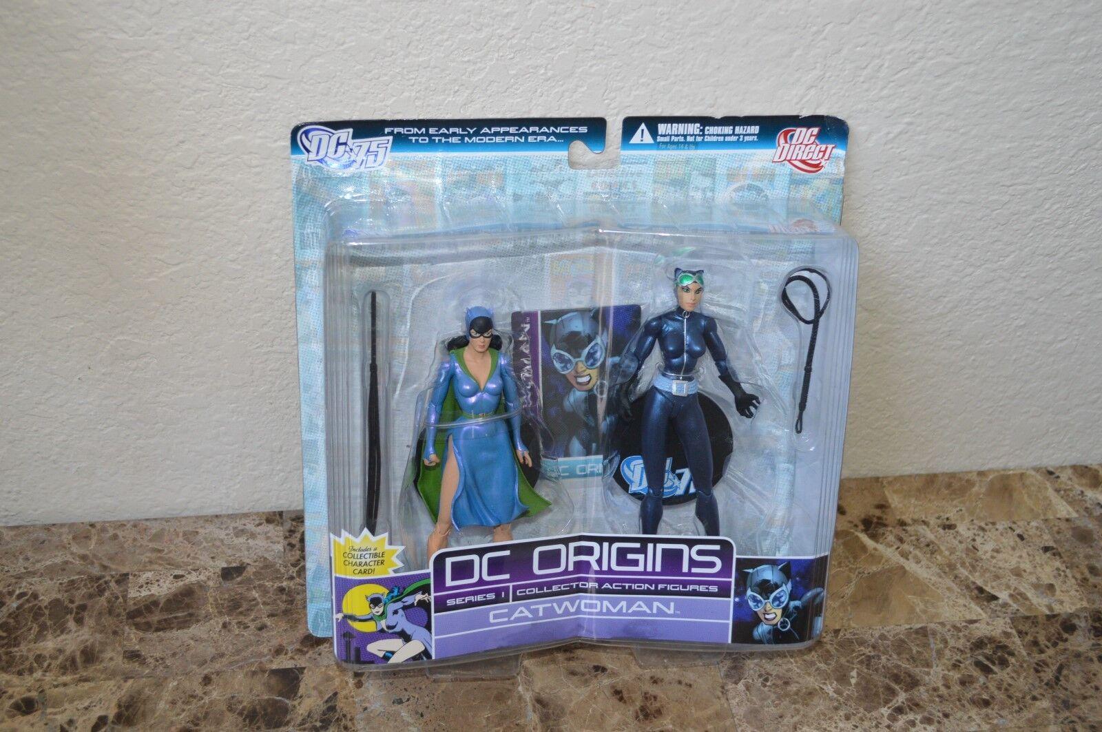 DC Origins serie 1 CATHMAN 6i åtgärd Figur 2 pK DC Direkt leksaker