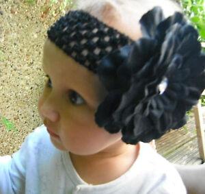 Flower-hairband-headband-headwear-clip-for-Wedding-Bridal-Party-Girl-baby-gift