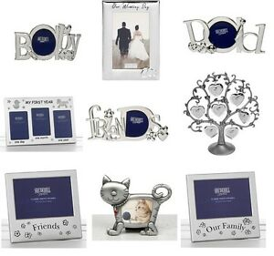 SILVER-PHOTO-PICTURE-FRAME-MUM-DAD-SON-DAUGHTER-WEDDING-FAMILY-FRIENDS-SISTER