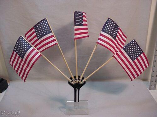 PT CRUISER CHROME PARADE 5 FLAG HOLDER /& FREE FLAGS
