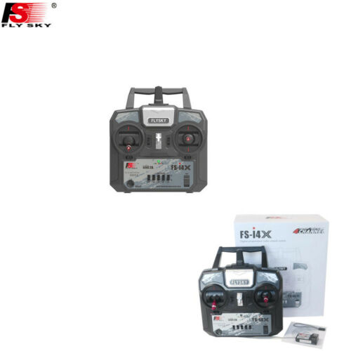 Flysky FS-i4X 2.4G 4ch RC Transmitter Controller with FS-A6 Receiver Mode 1