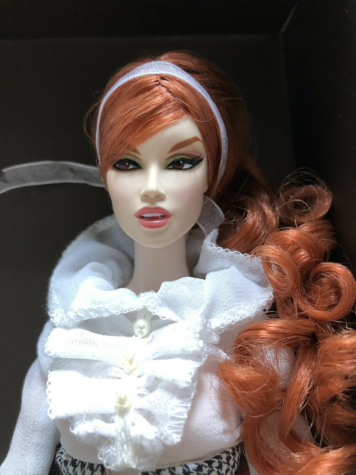 Fantastic ONLY GINGER Bride Of Dracula moda Royalty  (silkstone jason wu bambola)  ampia selezione