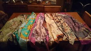 Super carino foto ufficiali prezzo favorevole Dettagli su 5 Foulards 100% seta made in Italy Luisa Spagnoli, vari disegni  e colori