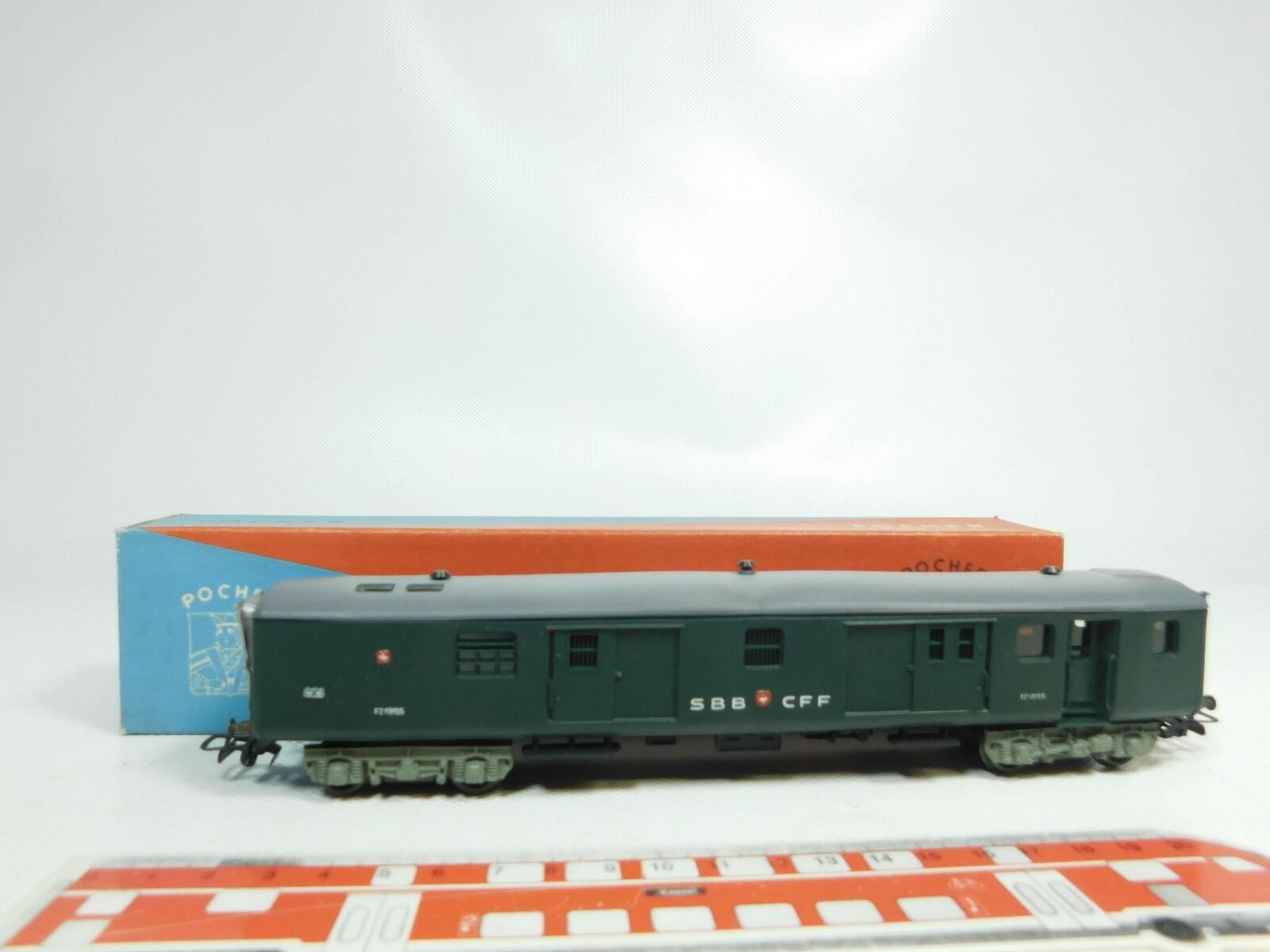 Bj152-0, 5  Pocher h0 dc Cochero para el equipaje post Cochero FZ 19155 SBB CFF, (OVP)
