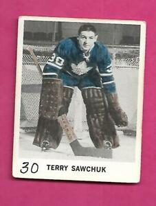 RARE-1965-66-COCA-COLA-LEAFS-TERRY-SAWCHUK-CARD-INV-C6676
