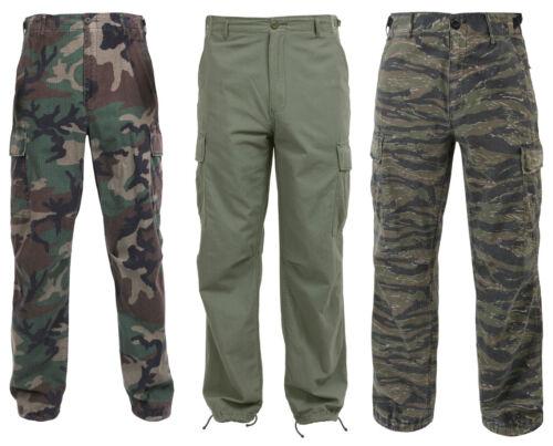 Fatigue Pantalon Cargo Camouflage 6 poches Nouveau Vintage Période Vietnam Rip-Stop Rothco