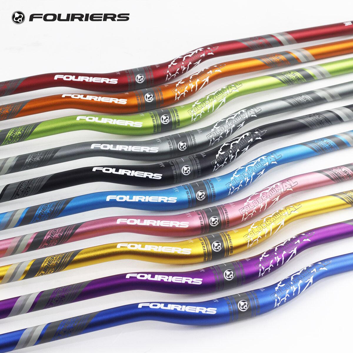 Aluminum AM FR XC DH Enduro Riser Handlebar 31.8 x 780mm 25mm Rise Bar Fouriers