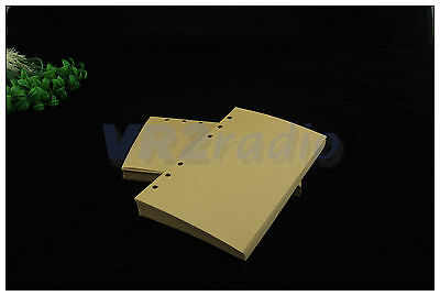 """1pcs the kraft paper for 7/7.5""""x5"""" FT notebooks using clip Pages 200 Sheets 100"""
