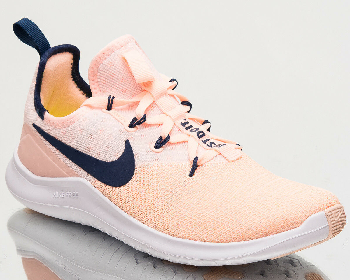 Nike Wmns Free Trainer 8 Womens New Training shoes Women Peach Navy 942888-800