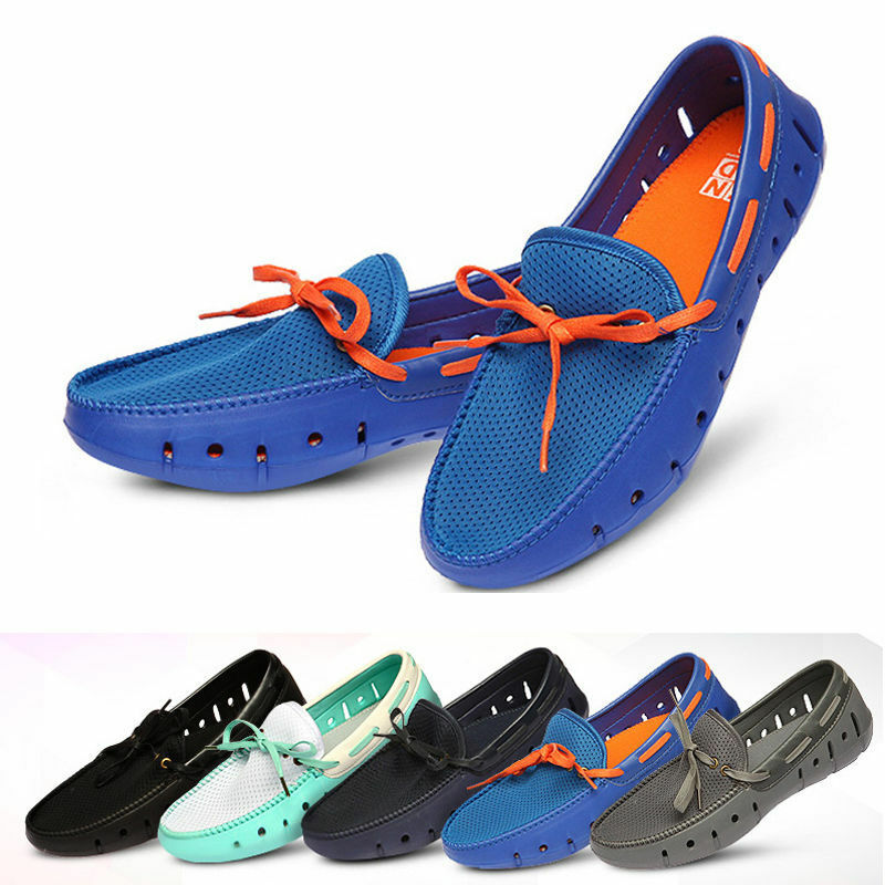 Mens Meshed Driving Shoes Boat Aqua Shoes Loafer Slip on Made in Korea 201
