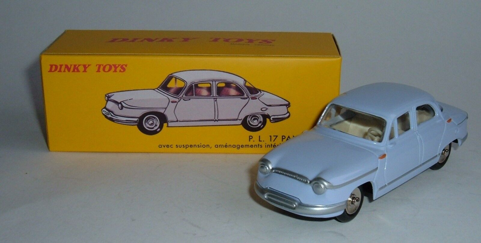 Atlas   Dinky Toys No. 547, Panhard PL 17, - Superb Mint.