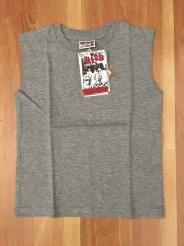 Mish Boys Size  12month gray muscle tee shirt