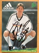 Christian Ziege AK DFB 1998 Autogrammkarte original signiert