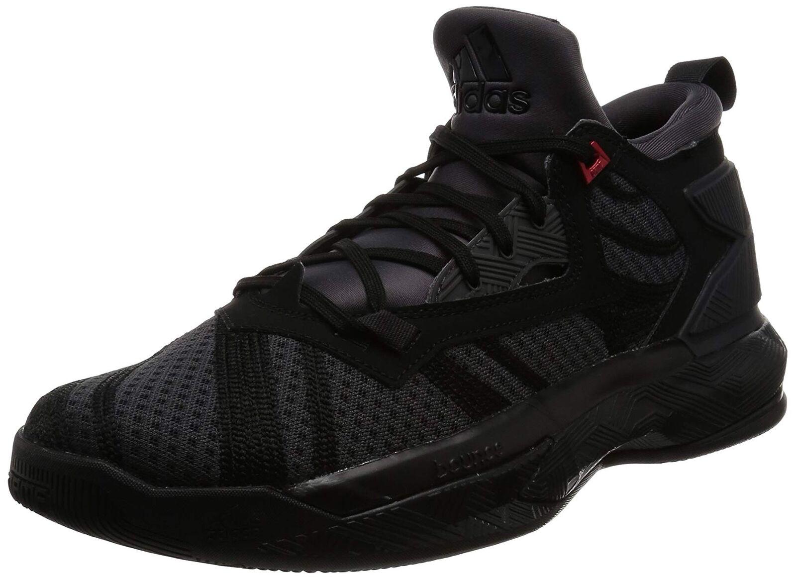 a78dfcd55f919 adidas D Lillard 2 Damian Shark Black Men Basketball Shoe Sneaker ...