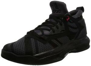 New Adidas D Lillard 2 Bounce Mens Basketball Black Trainer Shoes ... 920066049