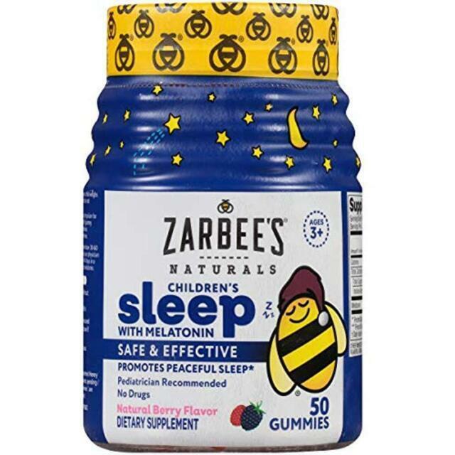 Zarbee S Naturals Children S Sleep Gummies 50 Pcs For Sale Online Ebay
