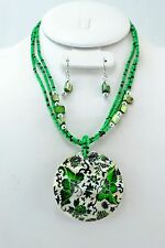 100PC WHOLESALE LOT COSTUME JEWELRY SHELL NECKLACE SET