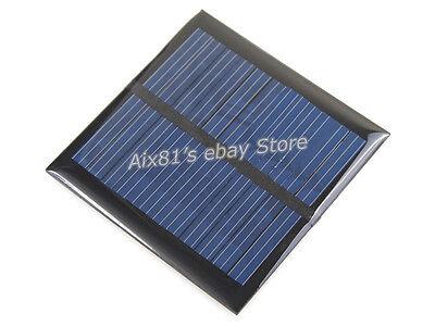 Solar Panel 5.5V 90mA 0.6W Mini Small Solar Cell PV Solar Power PCB Panels LED