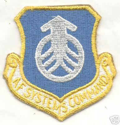 1970s80s AF SYSTEMS COMMAND patch