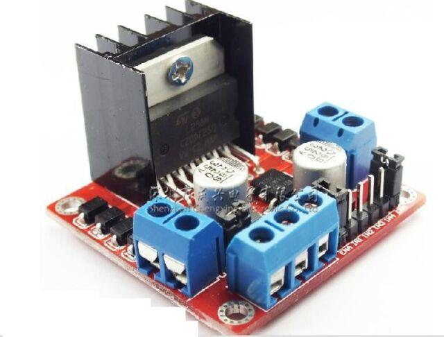 New L298N DC Stepper Motor Driver Module Dual H Bridge Control Board for Arduino