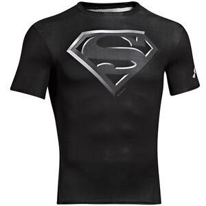 Under-Armour-Alter-Ego-Camiseta-Manga-Corta-de-Compresion-Superman-Black